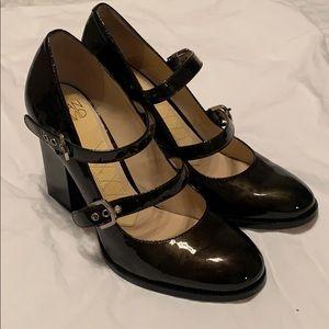 Joan & David parent leather heels